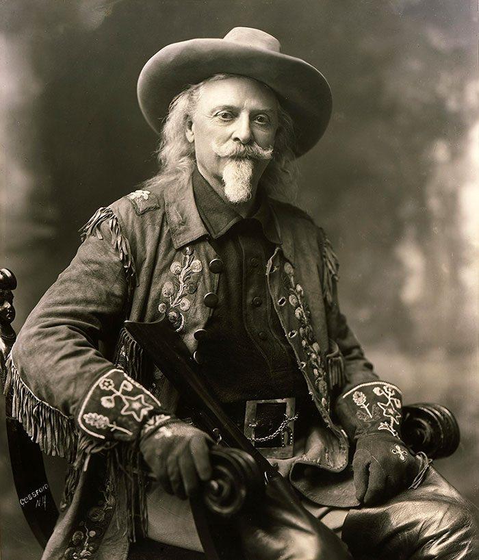 "William F. ""Buffalo Bill"" Cody (1846 - 1917). Courtesy of Buffalo Bill Center of the West, Cody, Wyoming."